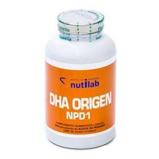 DHA Origen NPD1 Nutilab  - 120 cápsulas