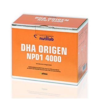 DHA Origen NPD1 4000 Nutilab  - 30 viales