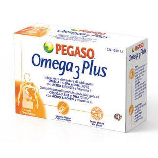 Omega 3 Plus Pegaso - 40 cápsulas