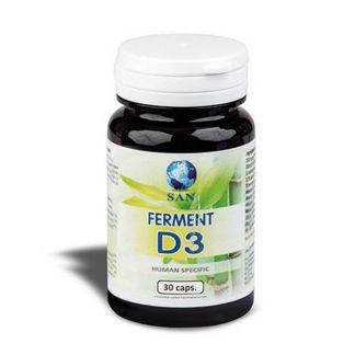 Ferment D3 Probióticos San - 30 cápsulas