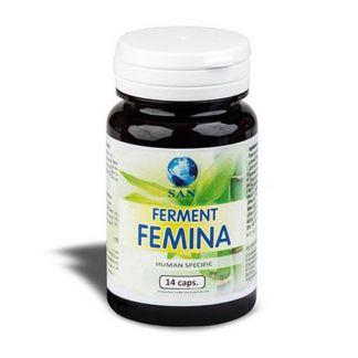 Ferment Femina Probióticos San - 14 cápsulas