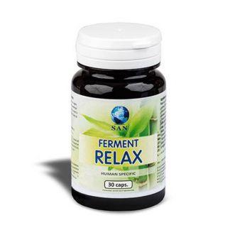 Ferment Relax Probióticos San - 30 cápsulas