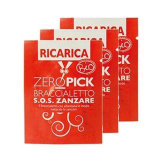 Recarga Pulsera Antimosquitos Zeropick - 3 unidades