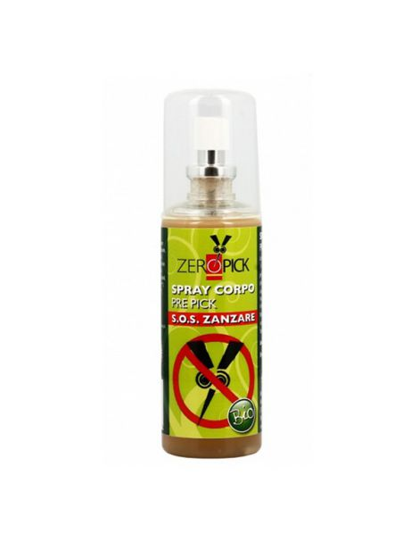 Spray Corporal Antimosquitos Zeropick - 100 ml.