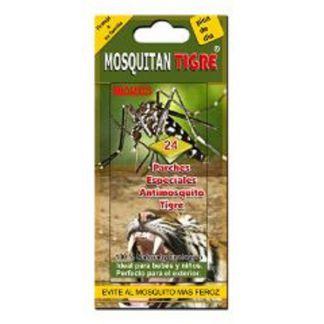 Parches Repelentes de Mosquito Tigre Mosquitan - 24 unidades