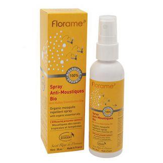 Spray Antimosquitos para la Ropa Florame