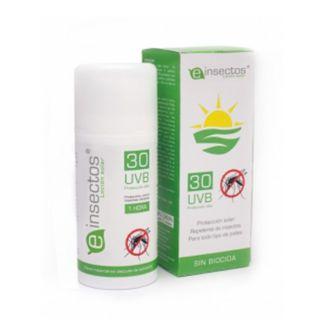 Loción Solar Repelente de Mosquitos 30 UVB Einsectos - 10 ml.