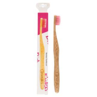 Cepillo Dental Adultos Bambú Rosa Nordics