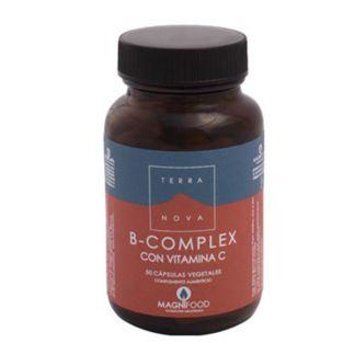B-Complex con Vitamina C Terranova - 100 cápsulas