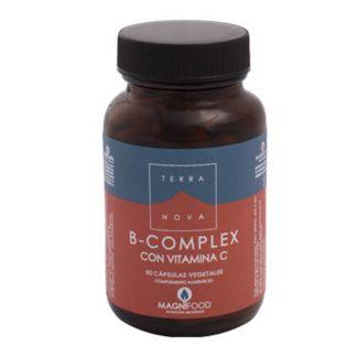 B-Complex con Vitamina C Terranova - 50 cápsulas