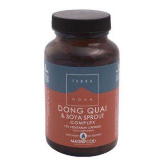 Dong Quai y Brotes de Soja Complex Terranova - 100 cápsulas