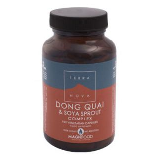 Dong Quai y Brotes de Soja Complex Terranova - 50 cápsulas