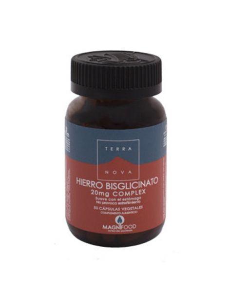 Hierro Bisglicinato Terranova - 50 cápsulas