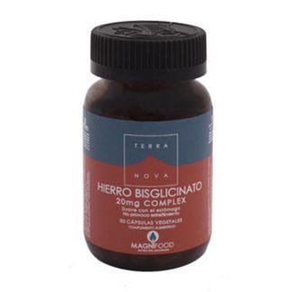 Hierro Bisglicinato Terranova - 100 cápsulas