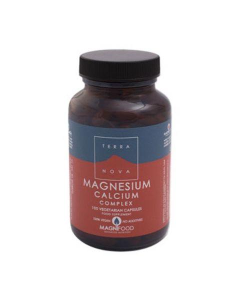 Magnesio Calcio Complex Terranova - 100 cápsulas