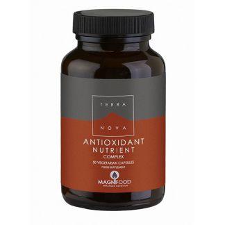 Nutrientes Antioxidantes Complex Terranova - 50 cápsulas