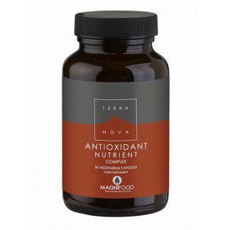 Nutrientes Antioxidantes Complex Terranova - 100 cápsulas