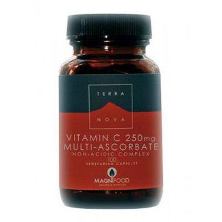 Vitamina C 250 mg. Terranova - 100 cápsulas
