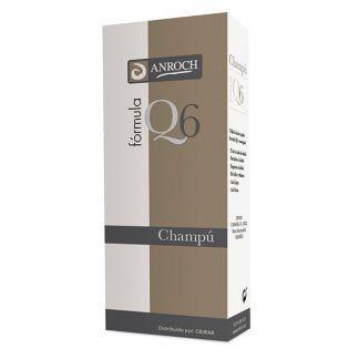 Champú Anticaída Fórmula Q6 Anroch Fharma - 250 ml.