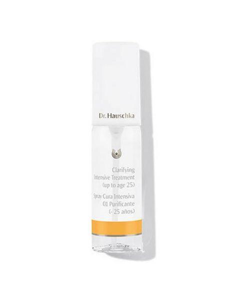 Spray Cura Intensiva 01 Purificante (- 25 Años) Dr. Hauschka - 40 ml.