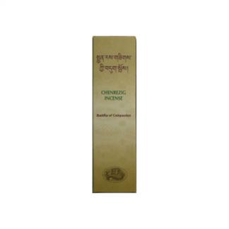 Incienso Tibetano Chenrezig Buda de la Compasión - caja de 20 barritas