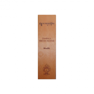 Incienso Tibetano Zambala Abundancia - caja de 20 barritas