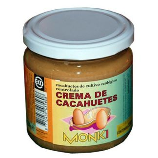 Crema de Cacahuetes Monki - 650 gramos