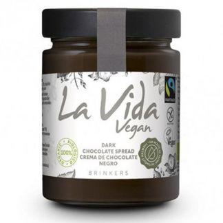 Crema de Chocolate Negro La Vida Vegan - 270 gramos