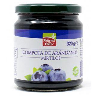 Compota de Arándanos La Finestra Sul Cielo - 320 gramos
