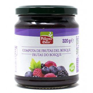 Compota de Frutas del Bosque La Finestra Sul Cielo - 320 gramos
