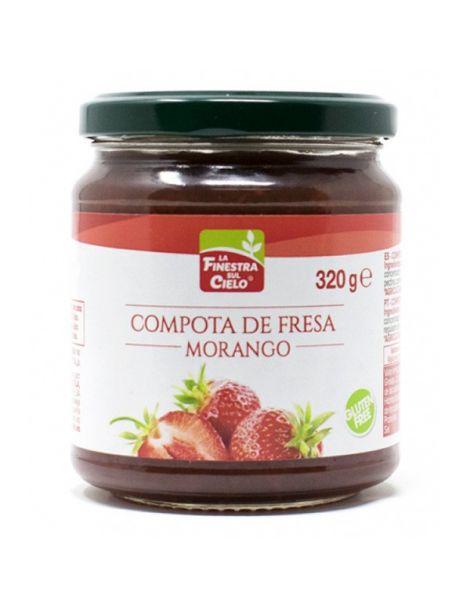 Compota de Fresa La Finestra Sul Cielo - 320 gramos