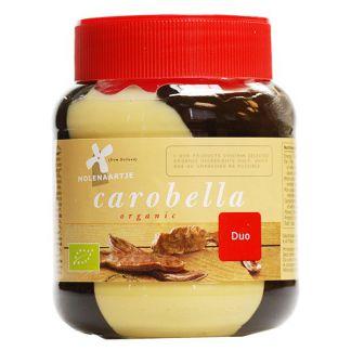 Crema Carobella de Algarroba y Avellanas Duo MolenAartje - 350 gramos