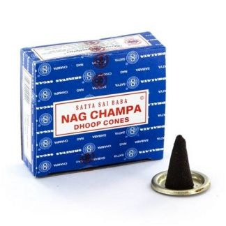 Incienso Nag Champa - 12 conos