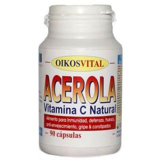 Acerola Vitamina C Oikos - 90 cápsulas