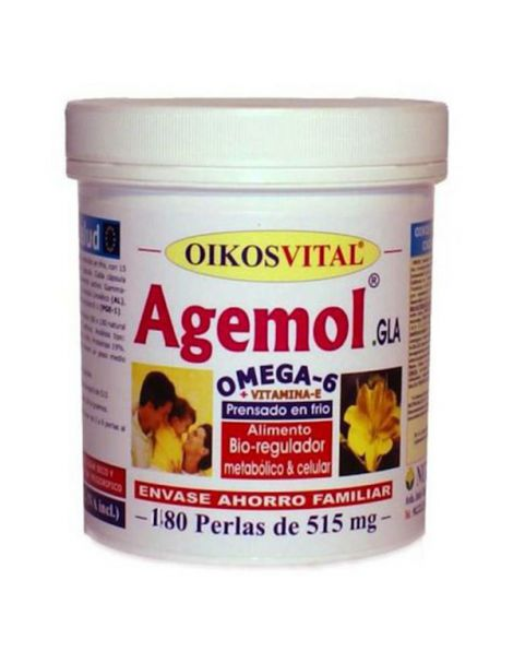 Agemol Omega 6 Oikos - 180 perlas