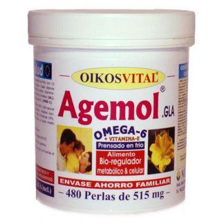 Agemol Omega 6 Oikos - 480 perlas