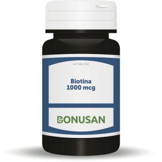 Biotina 1000 mcg Bonusan - 60 tabletas