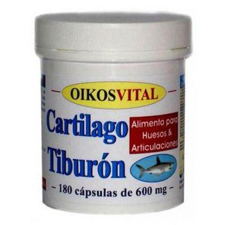Cartílago de Tiburón Oikos - 180 cápsulas