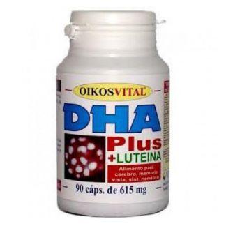 DHA Plus con Luteína Oikos - 60 perlas