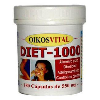 Diet 1000 Plus Oikos - 180 cápsulas