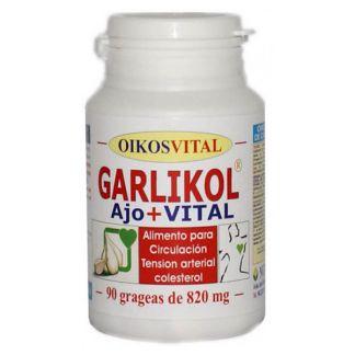 Garlikol Ajo Vital Oikos - 60 grageas