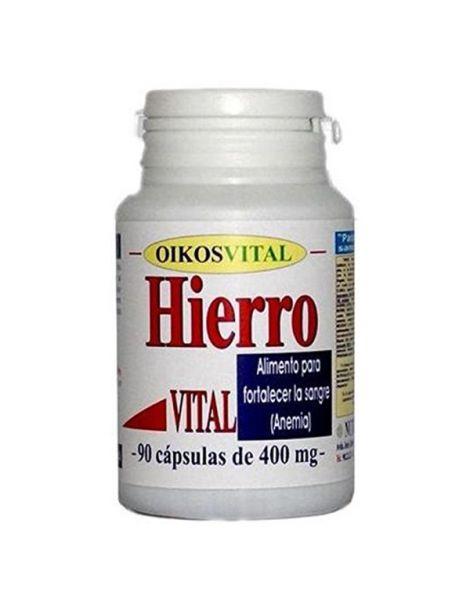 Hierro Vital Oikos - 90 cápsulas
