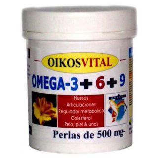 Omega 3-6-9 Oikos - 90 perlas