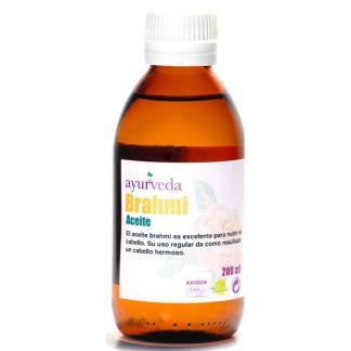 Aceite Brahmi Ayurveda Auténtico - 500 ml.