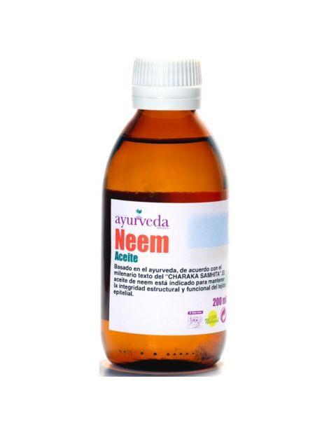 Aceite de Neem Ayurveda Auténtico - 500 ml.