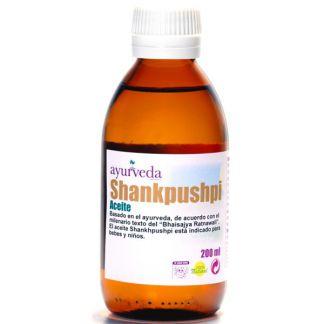 Aceite Shankhpushpi Ayurveda Auténtico - 500 ml.