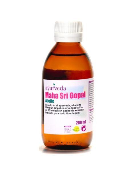 Aceite Maha Sri Gopal Ayurveda Auténtico - 500 ml.