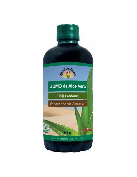 Zumo de Aloe Vera Lily of the Desert - 946 ml.