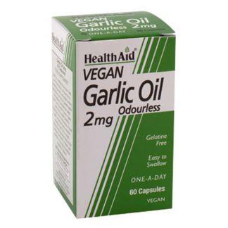 Aceite de Ajo Health Aid - 60 cápsulas