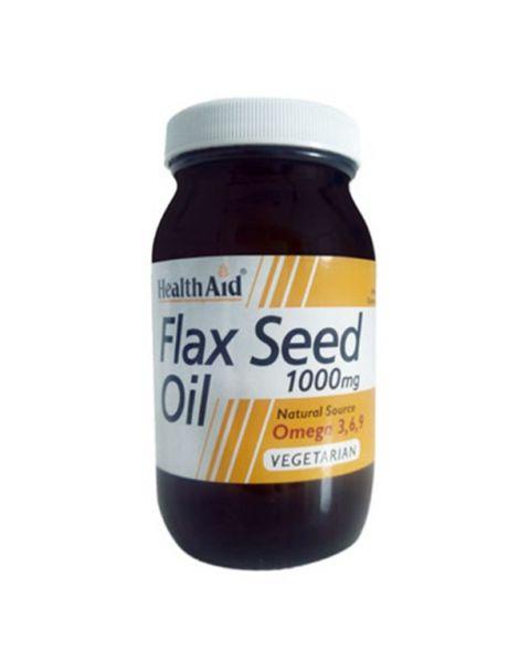 Aceite de Linaza Health Aid - 60 cápsulas
